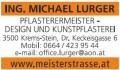 Ing. Michael Lurger  Pflasterermeister – Design und Kunstpflasterei